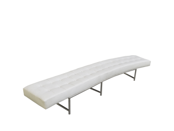 C Line Curved Bench without Backrest