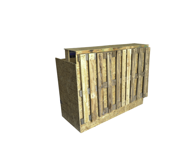 Crate and Wooden Event Furniture Collection