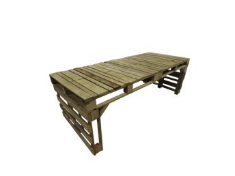 Crate Dining Table