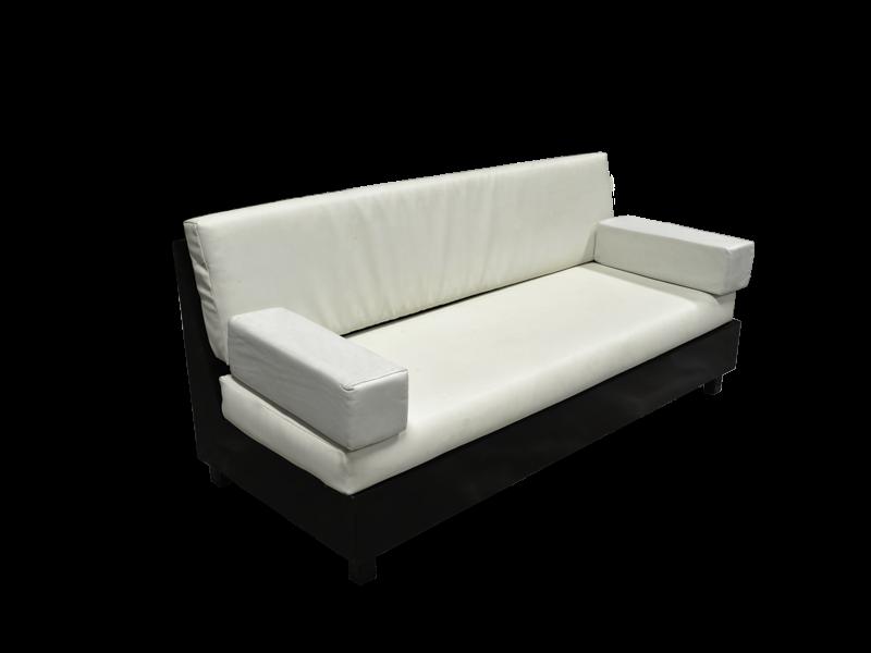 Majilis Three Seat Sofa With Wooden Base