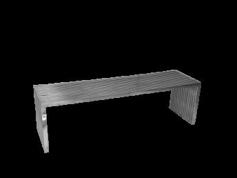 Rectangular Steel Coffee Table