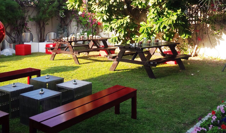 Villa Garden Private Party Furniture Rental For Events