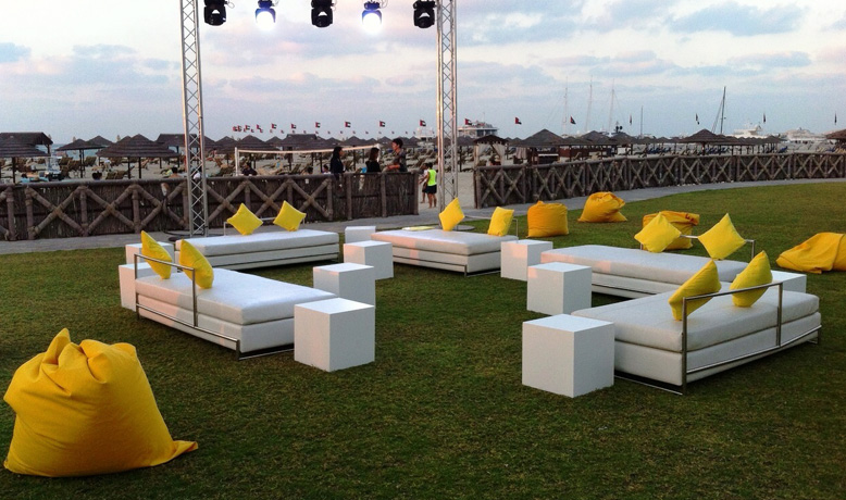 Outdoor Wedding Event 2014 Furniture Rental For Events