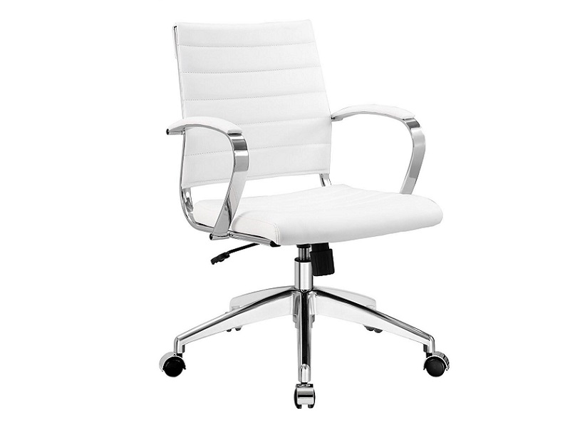 Hobro White Office Chair Event